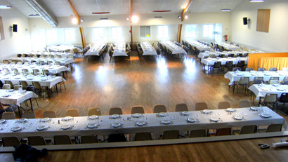 tables grande salle