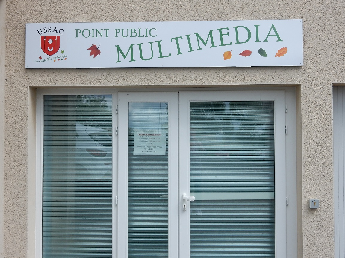 point multimédia entrée